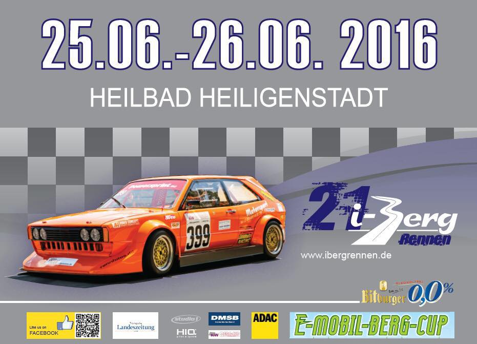 21. ADAC Ibergrennen Heilbad Heiligenstadt @ Heilbad Heiligenstadt   Thüringen   Deutschland