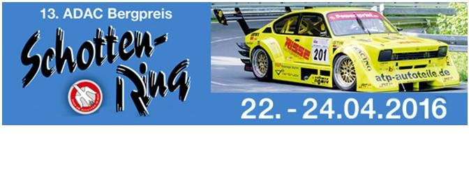 Der Countdown zum geplanten Saisonstart beim 13.ADAC Bergpreis Schottenring läuft